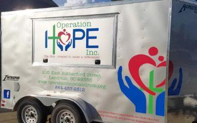 Helping Operation Hope